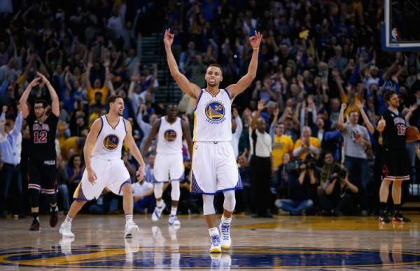 Can anyone stop the Golden State Warriors? The stats are staggering among Stephen Curry, Klay Thompson, Andre Iguodala, Harrison Barnes and Draymond Green.