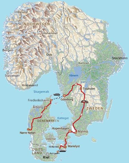 15-daagse familierondreis Denemarken, Zweden · Pharos Reizen