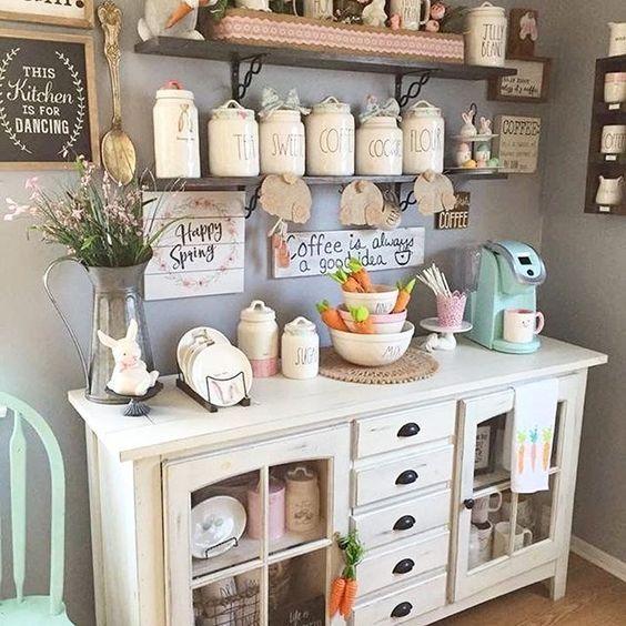 lovely farmhouse kitchen decor - Farmhouse Kitchen Decor