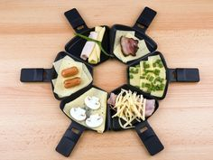 Raclette ideas - oh so fun... great family night get yours at www.jennifersimper.velata.ca great ideas on this site