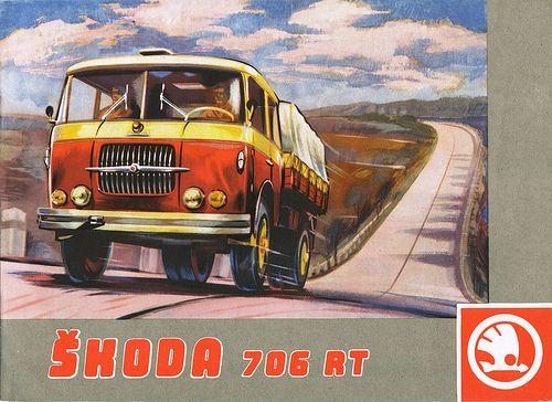 Skoda 706 RT #Skoda
