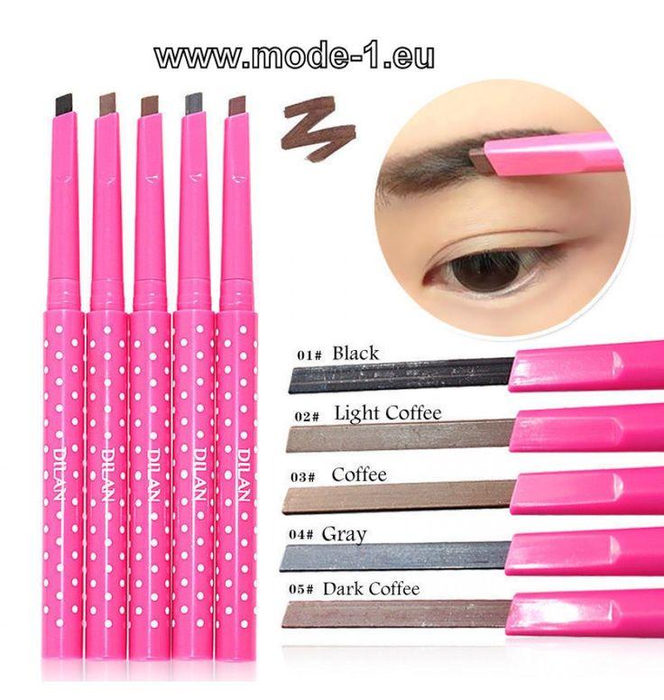 Augenbrauen Stift Wasserfest 5 Farben