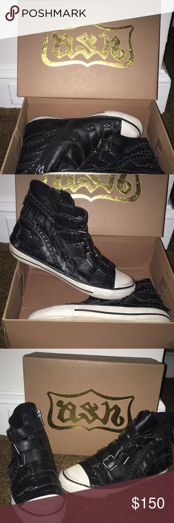 Ash Sneakers Authentic Ash sneakers that have only been worn once. Are in great condition and come in the original box. Ash Shoes Sneakers