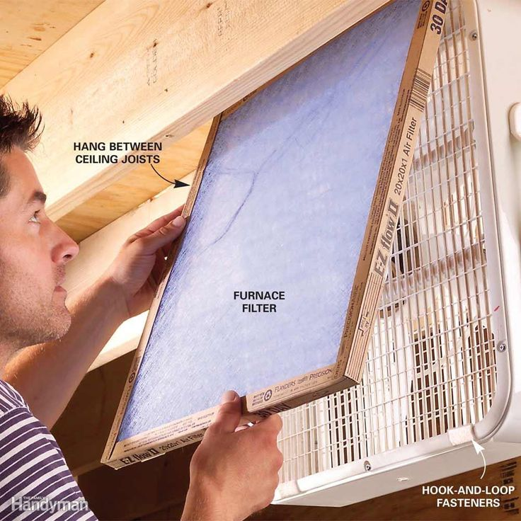 Can't afford an air cleaner forthose dusty woodworking jobson the weekend