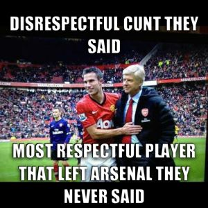 Man United vs Arsenal Memes .