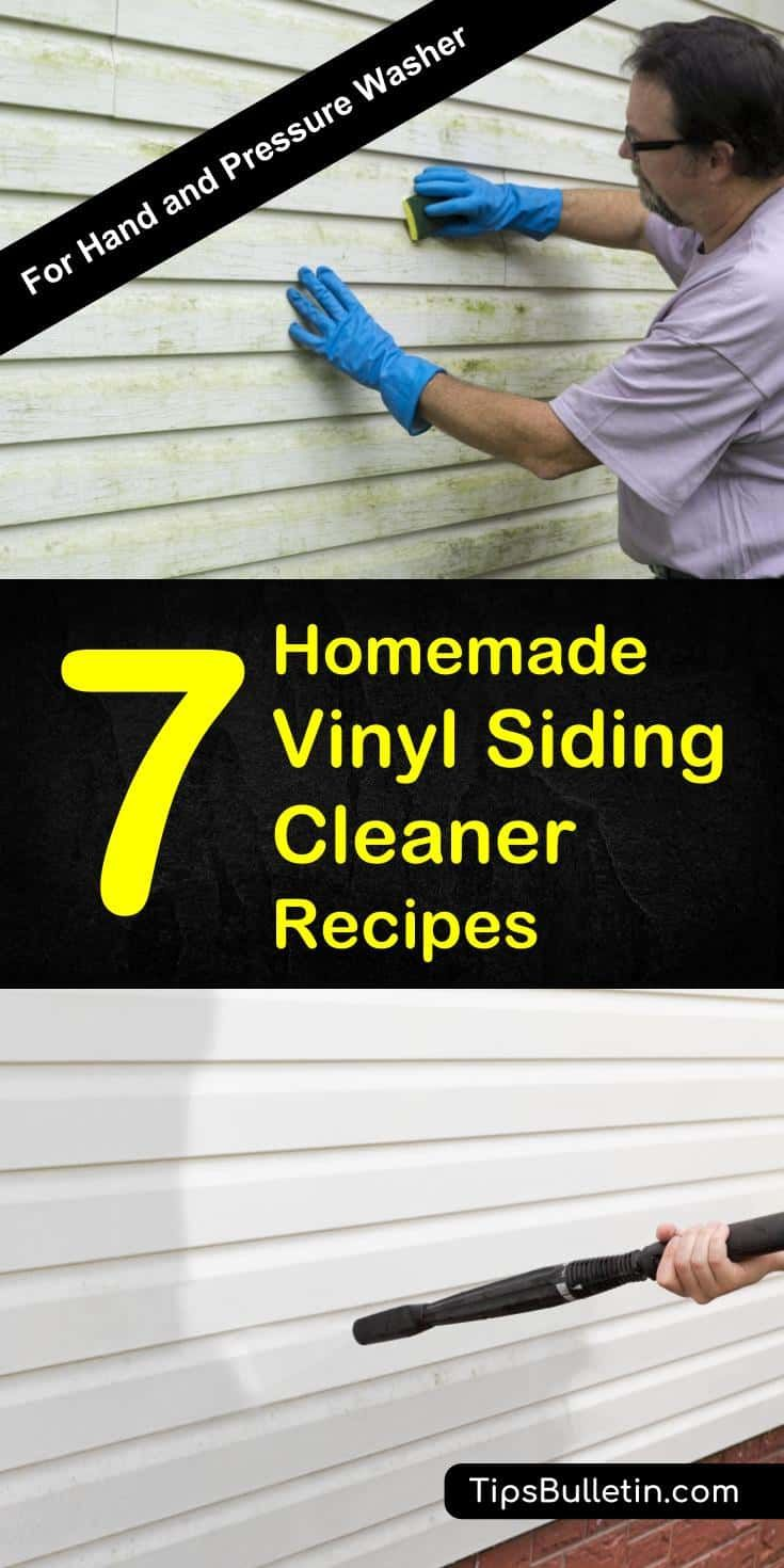 7 Homemade Vinyl Siding Cleaner Recipes | *~*~ For The Home #2