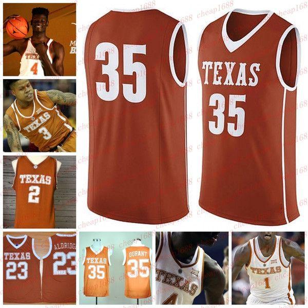 best loved 52e68 1c99f NCAA Texas Longhorns #4 Mohamed Bamba Mo Jersey Durant 35 ...