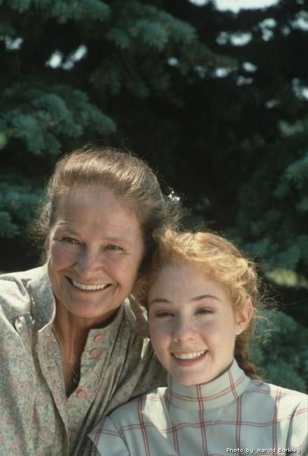 Megan Follows and Colleen Dewhurst in Anne of Green Gables (1985)