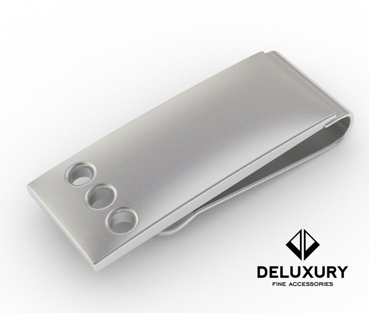 """""""The Smith"""" Money Clip from the Deluxury Fine Accessories Money Clip Line.  Now available at:  http://superurl1.com/0156635375a2987  www.Deluxury.Global"""