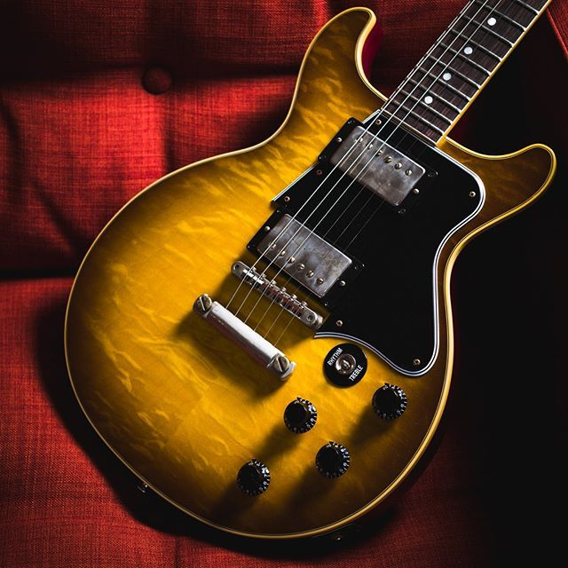 Image result for gibson double cut custom shop