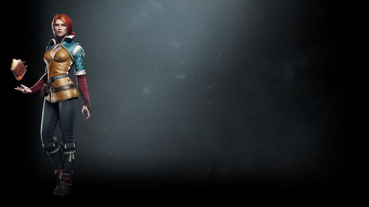 The Witcher Triss Wallpaper