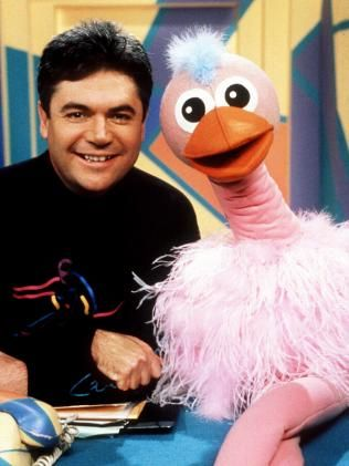 Hey Hey its Saturday. Darryl Somers and Ozzy Ostrich......I miss this show,wish they would come back