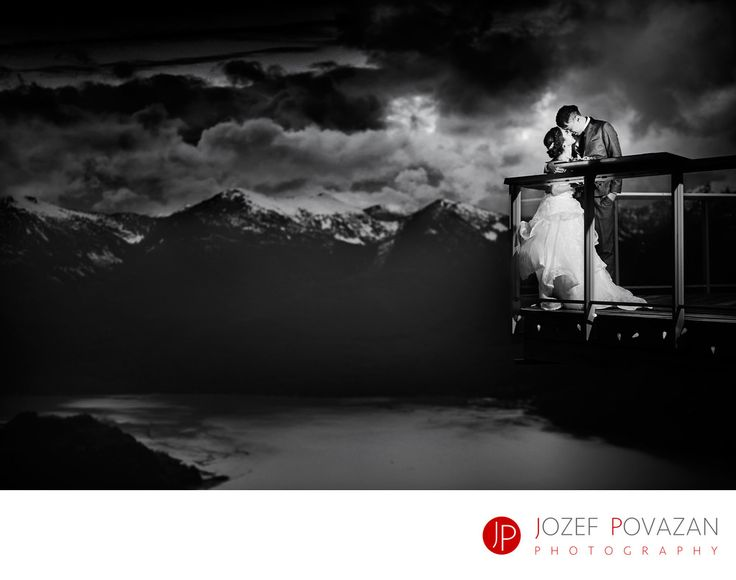 Best Award winning Vancouver wedding photographers Povazan Photography - Sea to Sky Gondola Winter Wedding Photography in snow: Sea to Sky Gondola Winter Wedding Photography in snow photographed by Vancouver photographer Jozef Povazan. Dramatic and romantic with epic modern look story for a destination Hong Kong couple who spent a week at Pacific coast to have their dream come true BC scenery based wedding story captured. They were freezing and chilling, laughing and crying, running and…