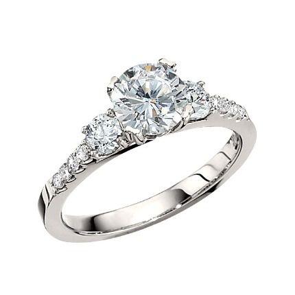 Fantastic engagement ring pin