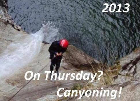 Canyoning in Ossola Valley, close to Lake Maggiore – 2013... Do you like adverture?? Try canyoning in the surrounding valleys of Lake Maggiore!