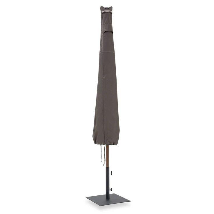 Classic Ravenna Patio Umbrella Cover (Beige - 6.5), Grey (Polyester) #55-159-015101-00, Patio Furniture
