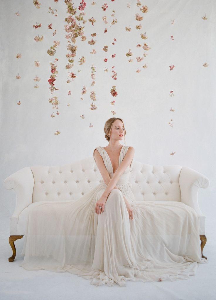 jose villa wedding, plenty of petals florist. floral backdrop