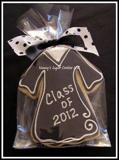Graduation Gown   Nanny's Sugar Cookies LLC: April 2012                                                                                                                                                                                 More