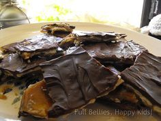 CRACK! This is what Trisha Yearwood really calls her Sweet & Saltines...we love this and it's a hit where ever I take it!