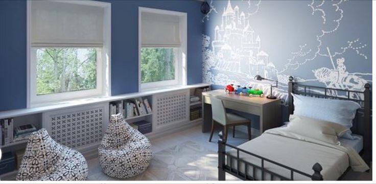 Оформление пространства под окнами