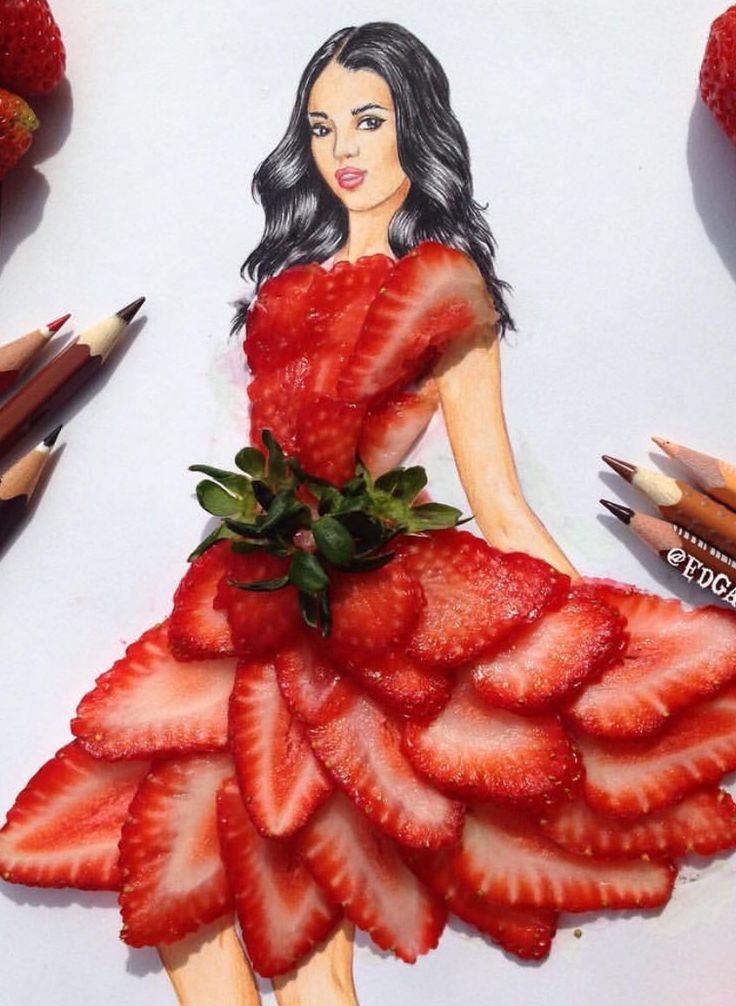 #Strawberries by @edgar_artis| Be Inspirational❥|Mz. Manerz: Being well dressed is a beautiful form of confidence, happiness & politeness