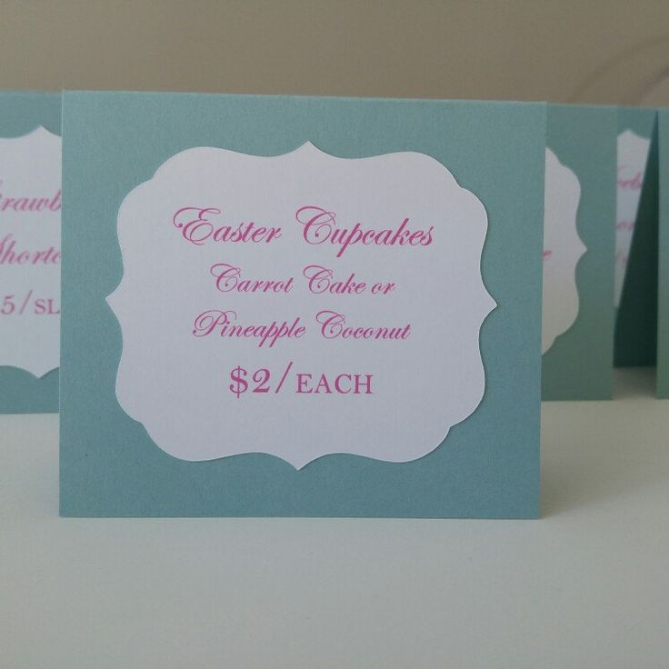 I shipped these cute little table signs yesterday and wanted to show you the color combination. Colors are fuchsia and pool blue. Such a happy color combo.