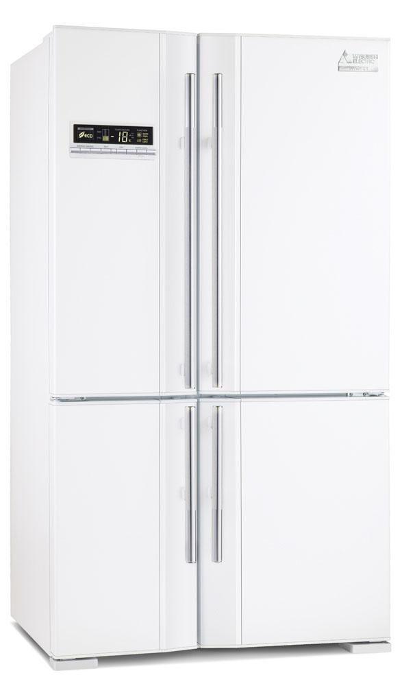 Mitsubishi 650 Litre Four Door Fridge Freezer $2999.00 from Noel Leeming
