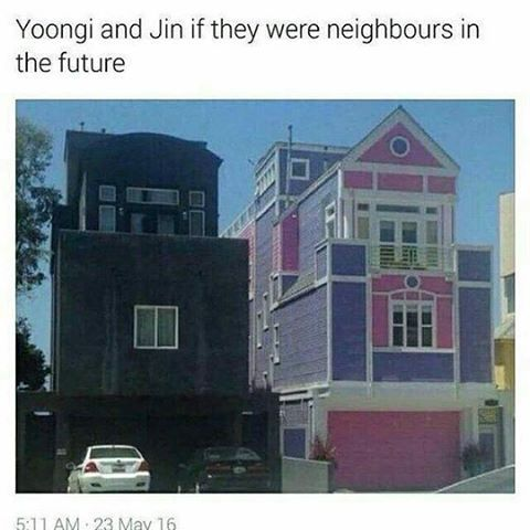 I bet thats what the sides of their room looks like because their roomates ahaha ❤ #BTS #방탄소년단
