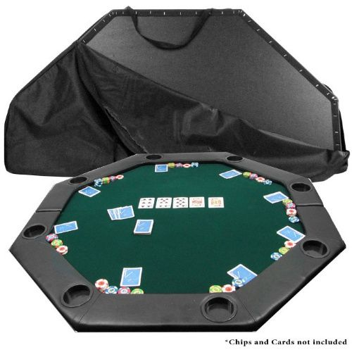 52 x 52 in. Octagon Padded Poker Table Top - Poker Tables at Hayneedle