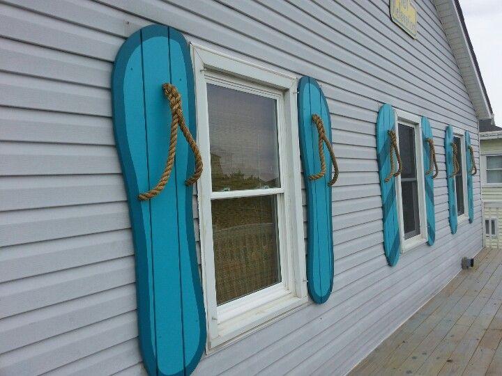 Flip Flop shutters