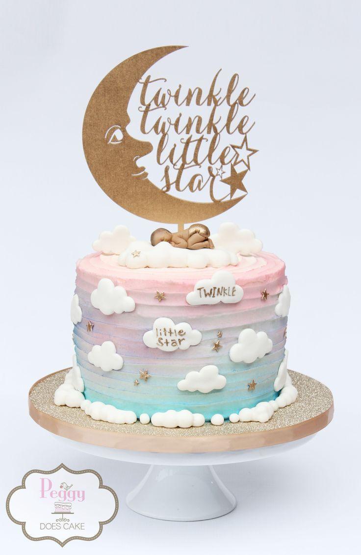 Twinkle Twinkle Little Star Reveal Cake Twinklestarcake