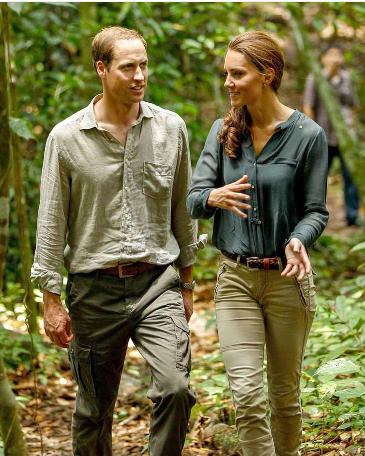Kate Middleton in jungle. Instagram
