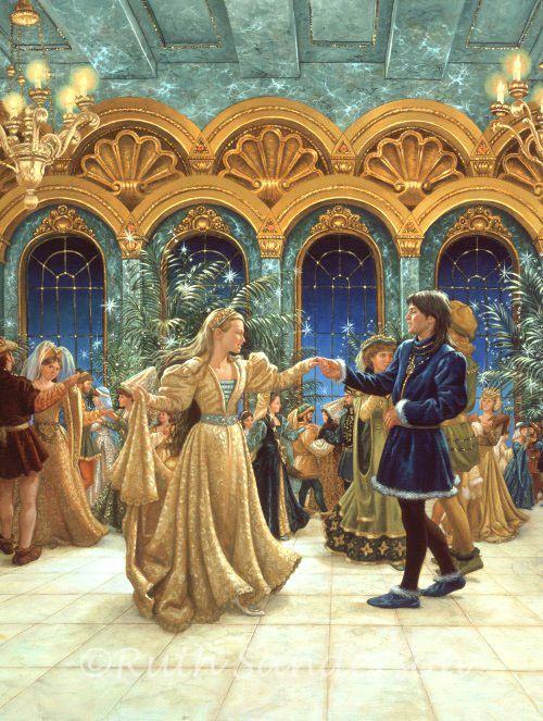 This Must Be Cinderella Beautiful Painting Http