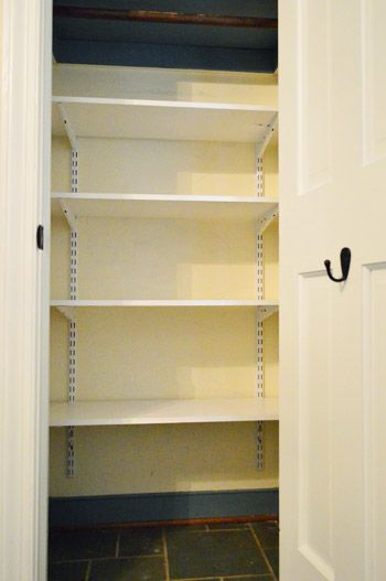 Who Needs Coats When You Can Have Toys? | Young House Love - I need to put shelves in our game closet