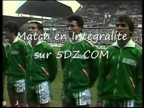 Match Coupe du Monde Algerie Allemagne 1982 (Lien dans la Description) - YouTube