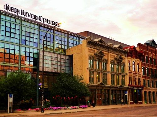 Red River College  Offers courses in Applied Arts, Science and Technology is located in Winnipeg. The College offers degree, diploma, certificate, and apprenticeship programs in the applied arts, applied sciences, and various trades. The university press, The Projector, is a member of CUP