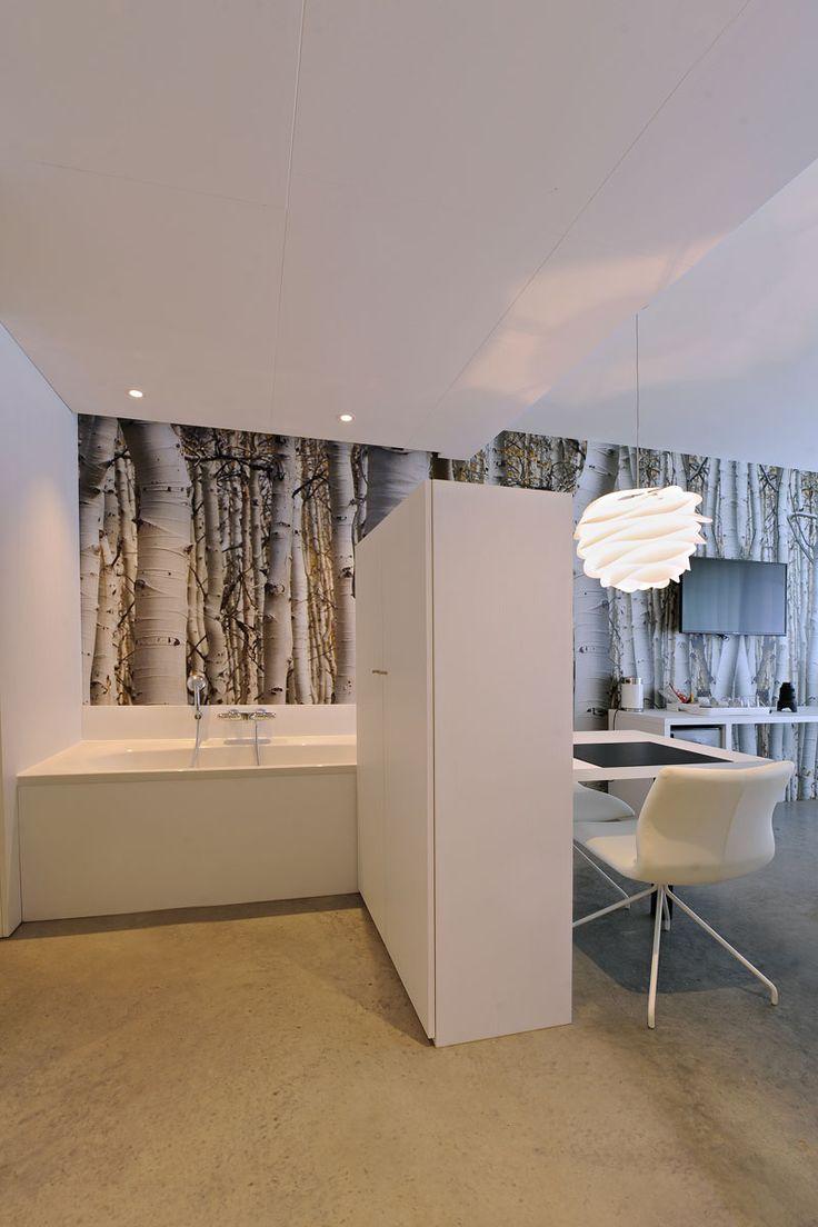25+ beste ideeën over Open badkamer op Pinterest - Droombadkamers ...