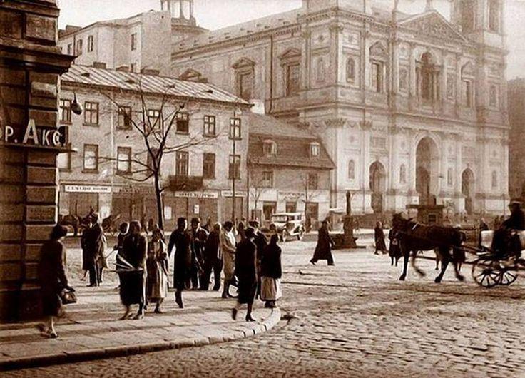 Plac GrzybowskiPoczątek XX wieku.Fot. Fotopolska.