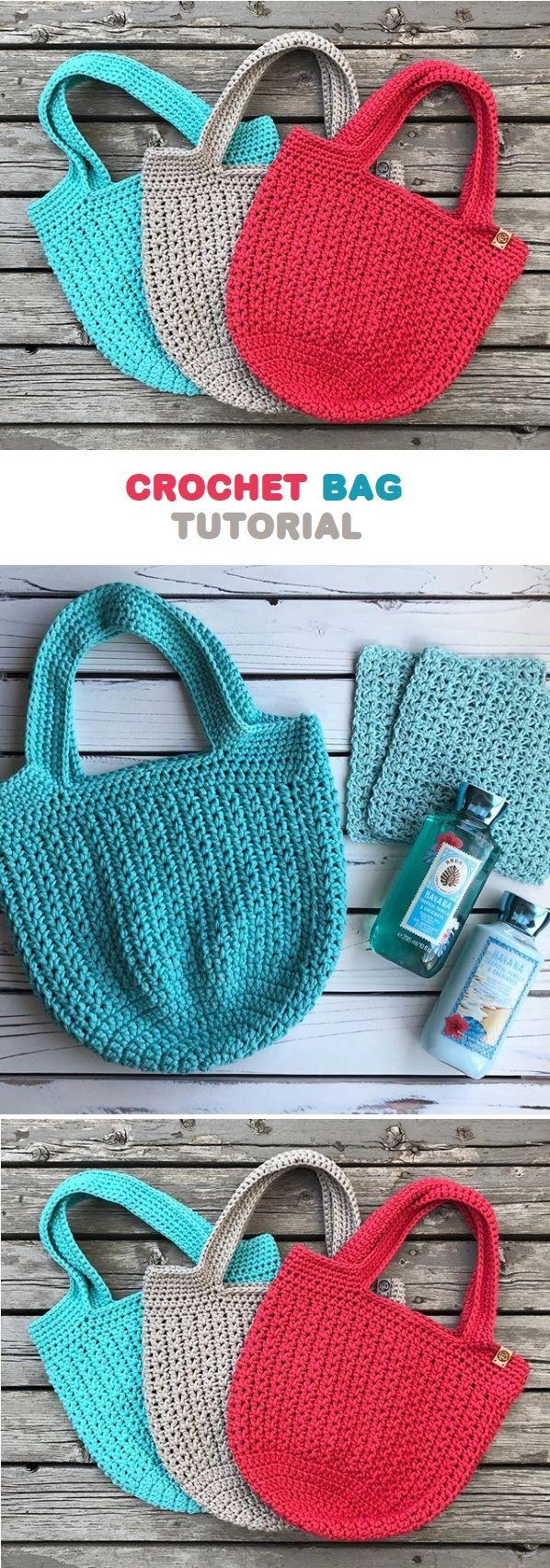 Crochet Bag Pattern – Handmade paris
