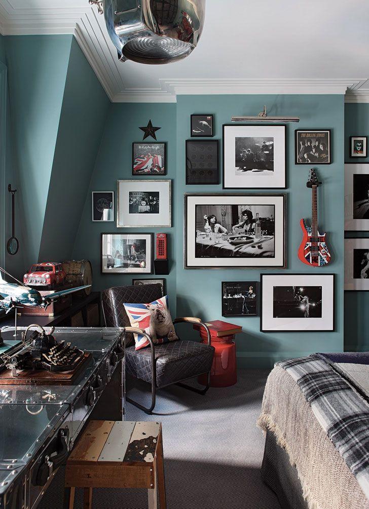 Gentleman's townhouse in London   PUFIK. Beautiful Interiors. Online Magazine