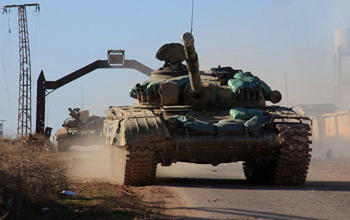 After Freeing Aleppo Syrian Army, Russian Aircraft Could Focus on Raqqa