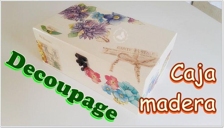 Oltre 1000 idee su como decorar cajas su pinterest - Como decorar madera ...