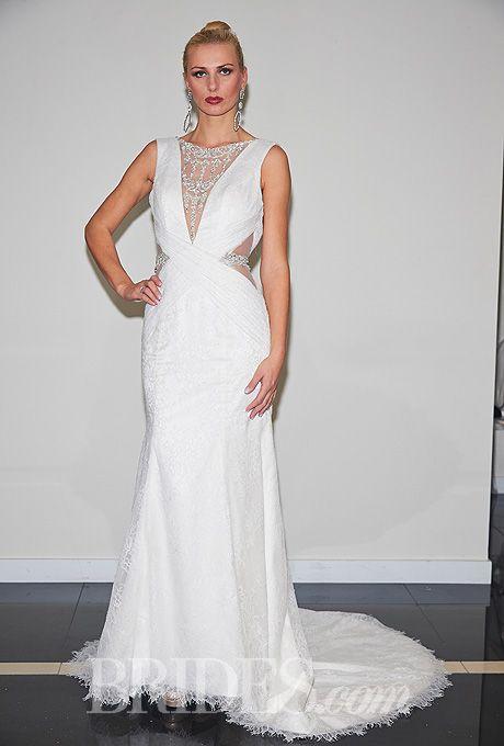 Yumi Katsura Wedding Dresses Fall 2014 Bridal Runway Shows | Wedding Dresses Style | Brides.com