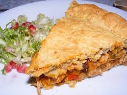 venezuelan food: polvoroza de pollo
