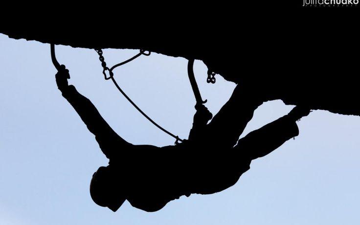 Bunkry Janowek on I love climbing