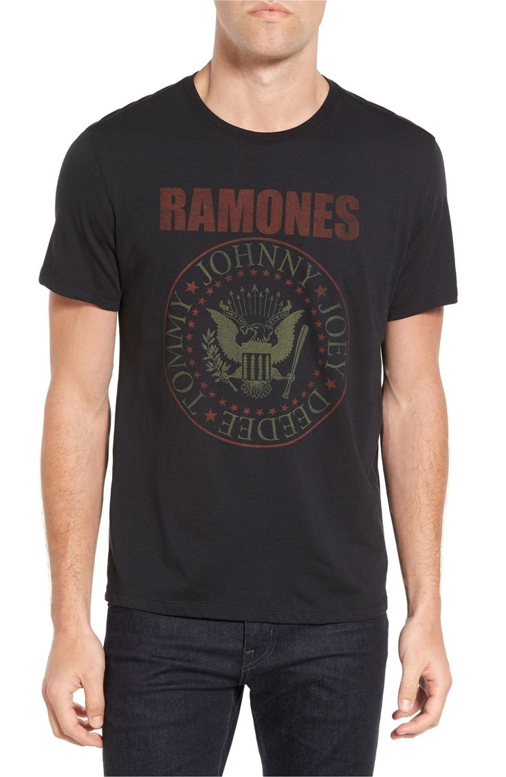 Main Image - John Varvatos Star USA Ramones Seal Logo Graphic T-Shirt