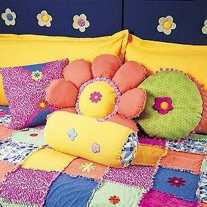 Flower Power Pillows Sewing Patterns ePattern