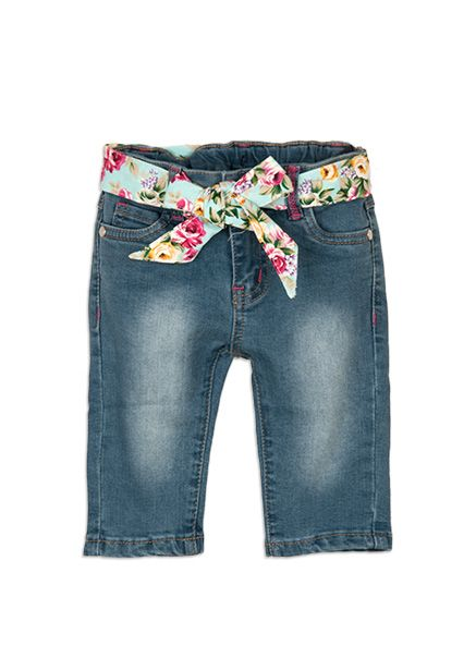 Pumpkin Patch - floral belt capris - 12-18m to 6 years #pumpkinpatchkids #denim #floral