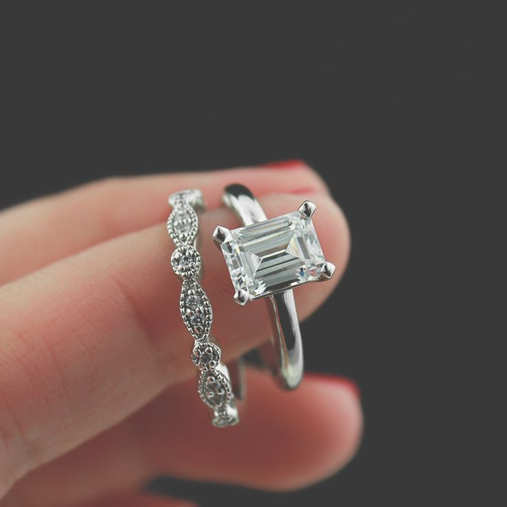 Pinterest Two Tone Engagement Rings Wedding Set And Wedding Bands