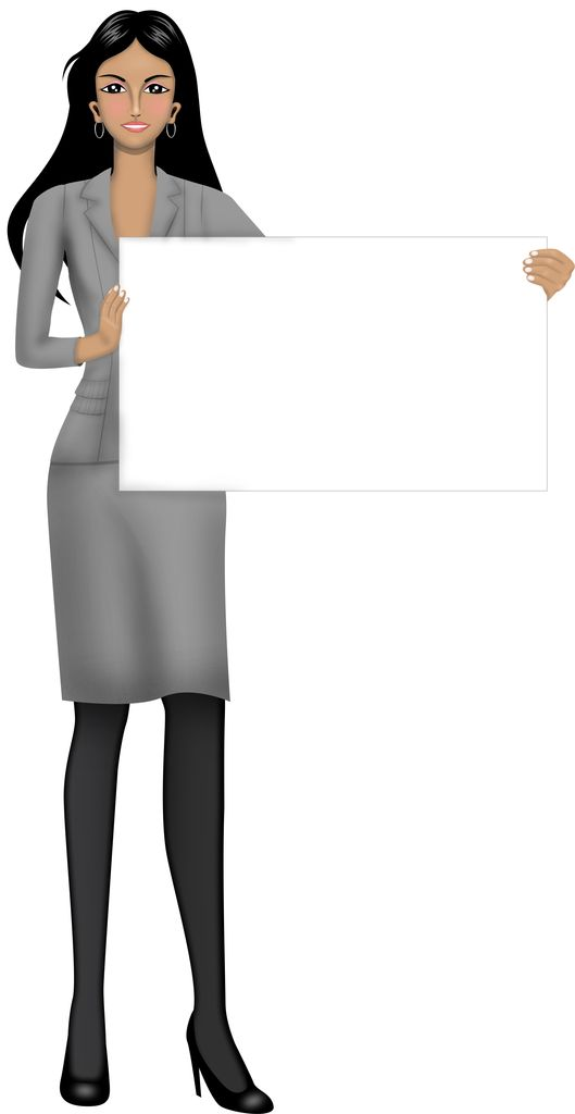 Customized illustration female avatar for eLearning with Adobe Captivate, Articulate Storyline and Techsmith Camtasia.
